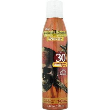 Solar Suntan Products Corp No-Ad Disney Sun Pals Pirates Of The Caribbean Aerosol Spray SPF 30 6 Fluid Ounce Can