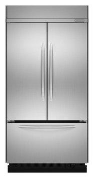 KitchenAid Stainless Steel Built-In French Door Bottom Freezer Refrigerator