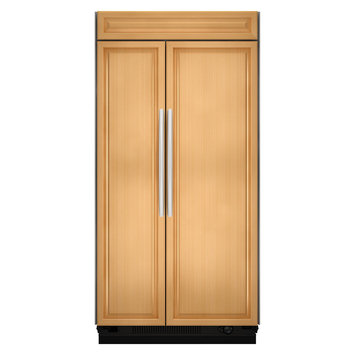 KitchenAid Custom Overlay 36 Built-In Side By Side Refrigerator