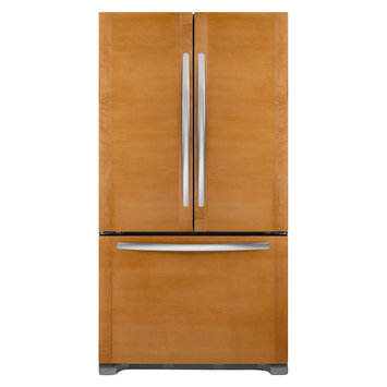 KitchenAid Black French Door Bottom-Freezer Refrigerator - KFCO22EVBL