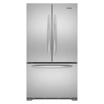 KitchenAid - 218 Cu Ft Counter-Depth French Door Refrigerator - Stainless-Steel