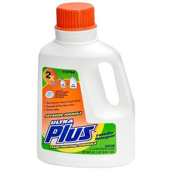 Ultra Plus 50 oz. Laundry Detergent, Stain-Fighting Formula