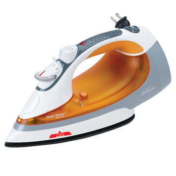 Sunbeam 004231000000 Steam Master and Iron with Hot Iron Storage Strip and Indicator Orange