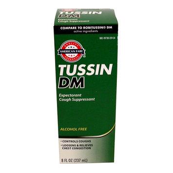 American Fare Tussin DM Cough 8 Fluid-Ounce