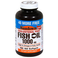 Fish Oil 1000 Mg 120 Count - REXALL SUNDOWN, INC.