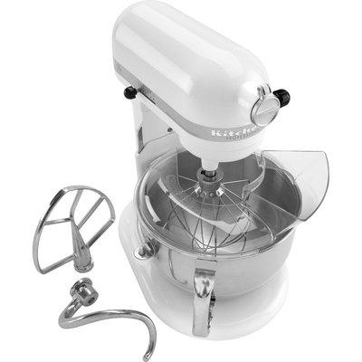 KitchenAid Professional 600 Series White Bowl-Lift Stand Mixer