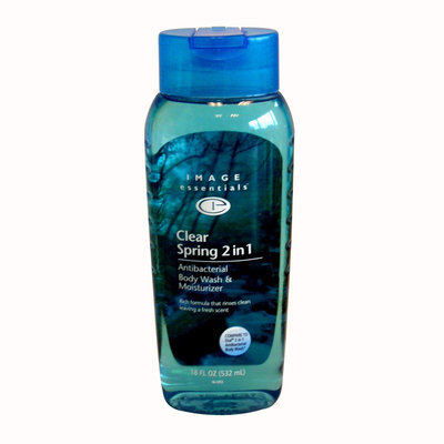 Image Essentials Body Wash & Moisturizer, Clear Spring 2 in 1, 18 fl oz (532 ml) - KMART CORPORATION