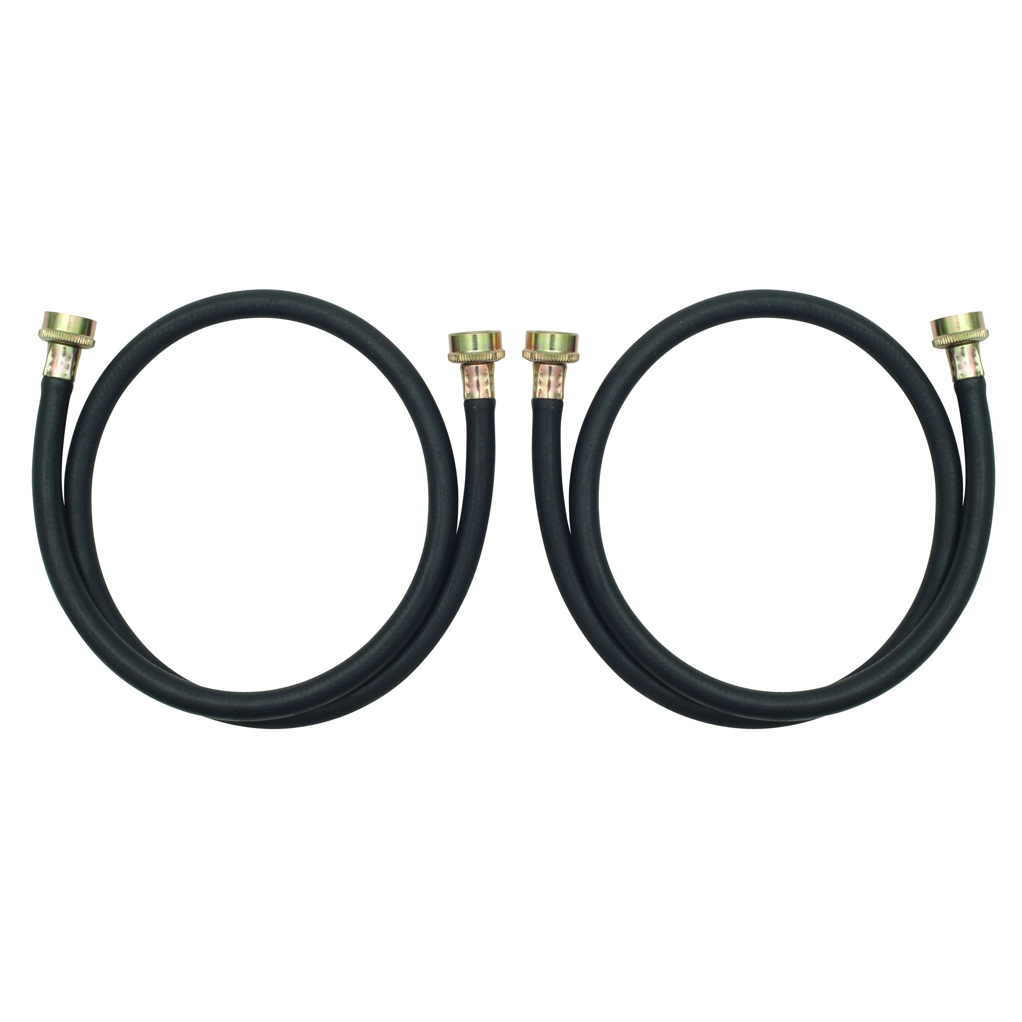 Whirlpool 8212546RP 4' Residential Washer Hoses - 2 Pack