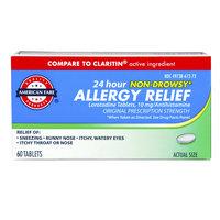 American Fare Loratadine 10 mg Tablets 60 Count