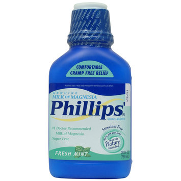 Milk Of Magnesia Liquid Mint 26 Fluid Ounce - Phillips