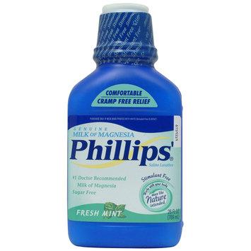 Milk Of Magnesia Liquid Mint 26 Fluid Ounce - Phillips