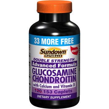 Naturals Glucosamine Chondroitin With Calcium & Vitamin D Caplets 153 Count - REXALL SUNDOWN, INC.