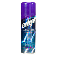 Edge Advanced Shave Gel Extra Moisturizing With Vitamin E 7 Ounce Can