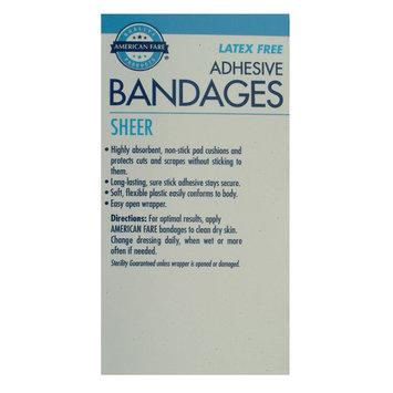 Kmart Corporation Sheer Bandages Extra Large - 10 count