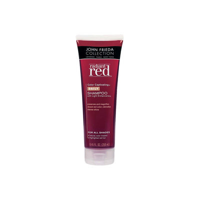 Radiant Red Color Captivating Daily Shampoo with Light Enhancers, 8.45 fl oz (250 ml) - JOHN FRIEDA