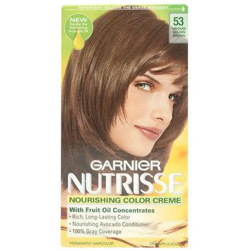 Permanent Haircolor, Light Natural Brown 60, 1 application - Nutrisse