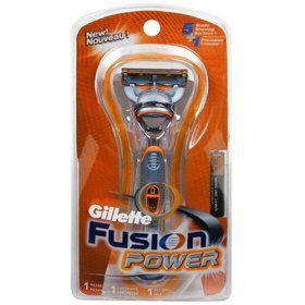 Gillette GIL FUSION POWER RAZOR TRAVEL PK - GILLETTE COMPANY