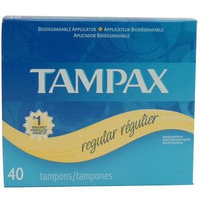 Tampax 40CT OEF REG W/5CT TPX PEARL REG - TAMBRANDS INC.
