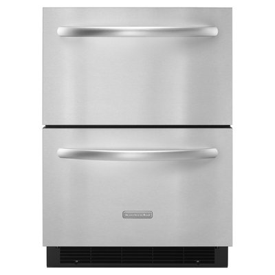 KitchenAid Architect Series II Stainless Steel Double-Drawer Refrigerator