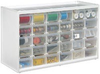 ArtBin Store-In-Drawer Cabinet, Translucent