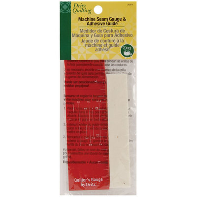Dritz 86770 Dritz Quilting Machine Seam Gauge amp; Adhesive Guide