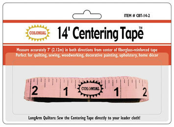 Colonial Needle Center Tape 14'