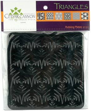 Cedar Canyon Textiles CCT4000 Triangles Rubbing Plate Set