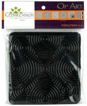 Cedar Canyon Textiles CCT4001 Op Art Rubbing Plate Set