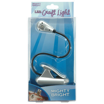 Mighty Bright LED Xtraflex Silver Craft Light