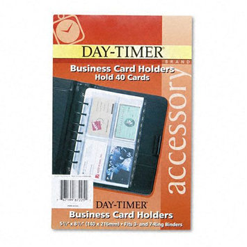 Kmart.com Day-Timer Business Card Holders for Looseleaf Planners
