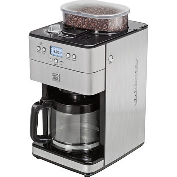 Kenmore 12-Cup Stainless Steel Coffee Grinder and Brewer 239401