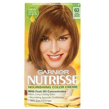 Nutrisse Permanent Haircolor, Light Natural Brown 60, 1 application