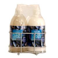 Image Essentials Spa Liquid Soap & Lotion Wire Rack Set Ocean Breeze Fragrance 16 Ounce Bottles - KMART CORPORATION