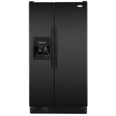 Whirlpool Side By Side Black Refrigerator - ED5KVEXVB