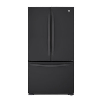 Kenmore 25.0 cu. ft. French Door Bottom-Freezer Refrigerator - Black
