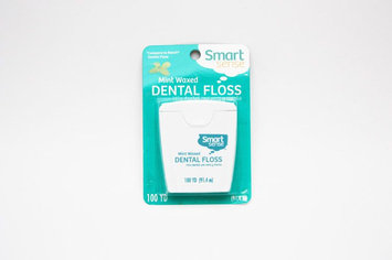 Kmart Corporation Smart Sense Mint Waxed Dental Floss, 100yd