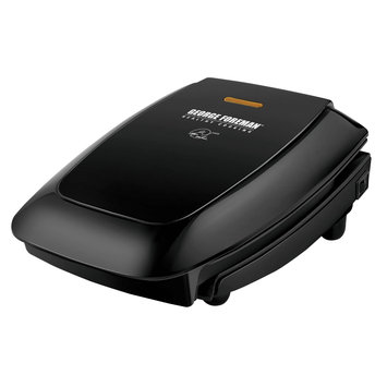 George Foreman GR0060B Super Champ Power Press Grill, Black
