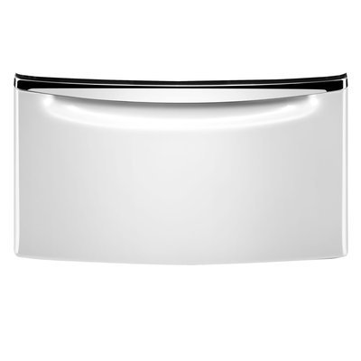 Whirlpool - Washer/Dryer Laundry Pedestal with Storage Drawer - Cosmetallic