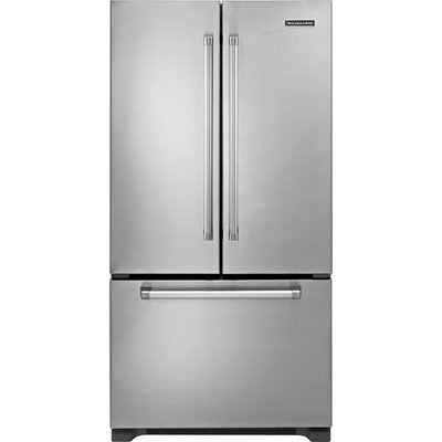 KitchenAid 21.8 cu. ft. Counter-Depth French-Door Bottom-Freezer Refrigerator