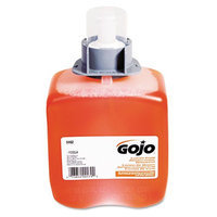 Gojo FMX-12 Foam Hand Wash, Dispenser, Orange, 3/Ctn