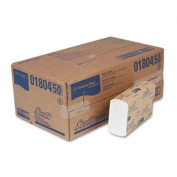 Kimberly-Clark SCOTT Multifold Paper Towels, White, 250/Pk 16/Ctn