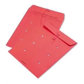 Kmart.com Quality Park Colored Paper String & Button Interoffice Envelope