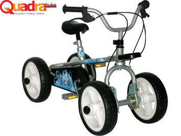 Big Toys Quadrabyke Ice Unisex 3 in 1 Bike - Silver
