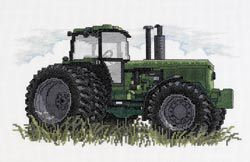 JANLYNN-Tractor Counted Cross Stitch Kit-12
