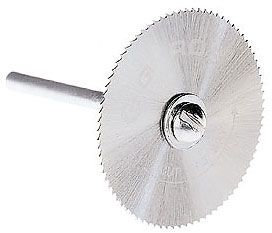 Gyros 82-11215 Saw Blade w/Mandrel Set, Fine-Teeth 1-1/4