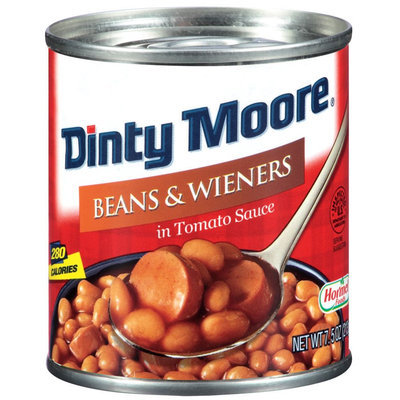 Dinty Moore Bean & Weiner's in Tomato Sauce, 7.5 oz. - HORMEL FOODS CORPORATION