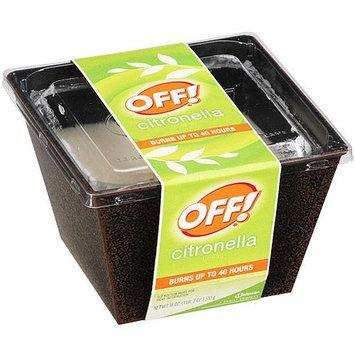 Off Citronella Bucket Insect Repellent Candle, 18 oz - S.C. JOHNSON & SON, INC.