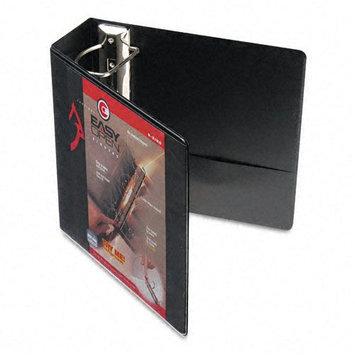 Cardinal 10341 Recycled ClearVue EasyOpen Vinyl D-Ring Presentation Binder, 4