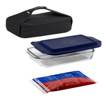 Pyrex 4 pc. Food Carrier Set