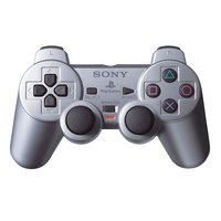 Sony PS2 Dual Shock Silver